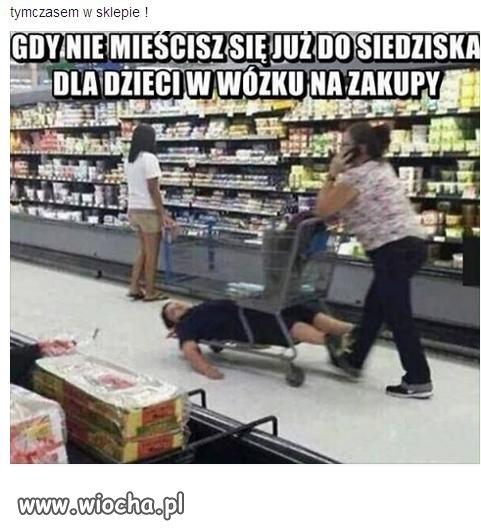 Tymczasem w sklepie .
