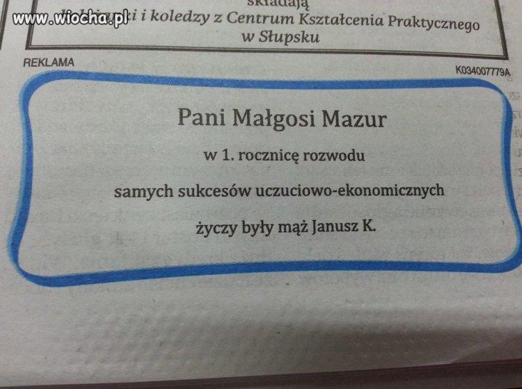 Janusz ze Słupska.