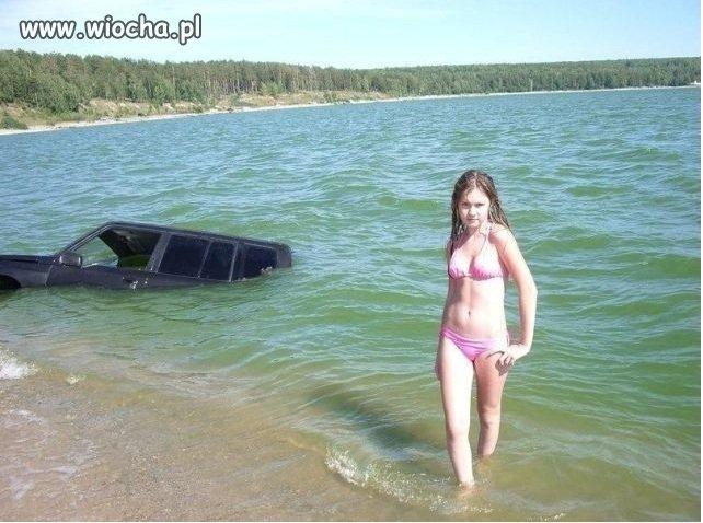 Takie tam nad wod�.