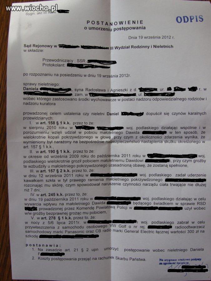 Sprawiedliwość w polskim sądzie