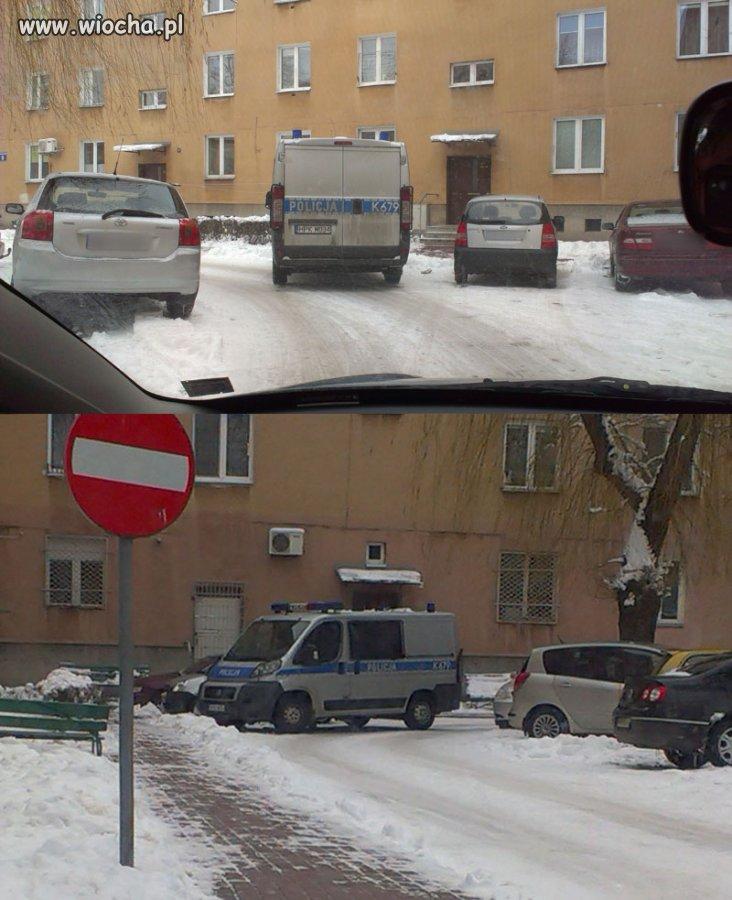 Ja już zaparkowałem, Ty nie musisz.