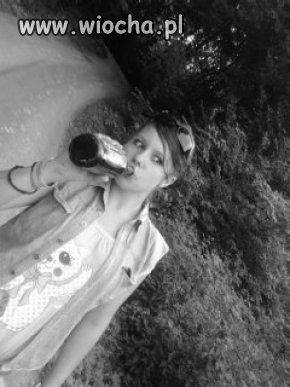 Kolejna słit 13-latka z piwem
