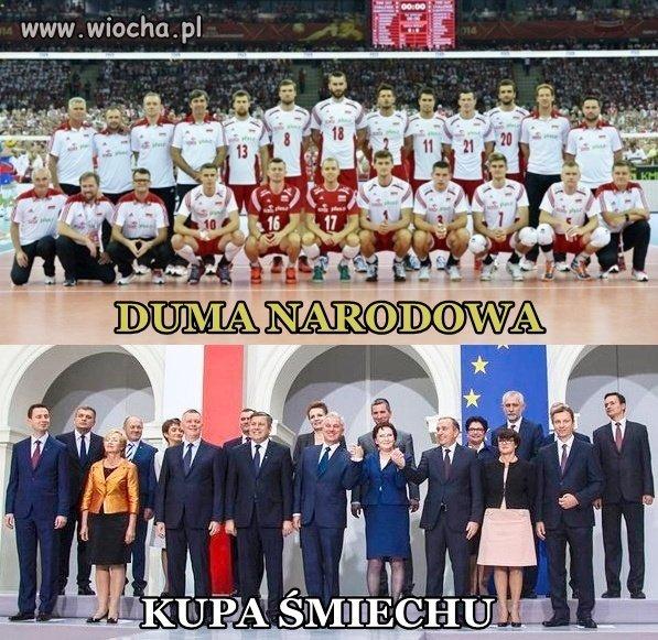 Dwie ekipy, o których w Polsce się mówi.