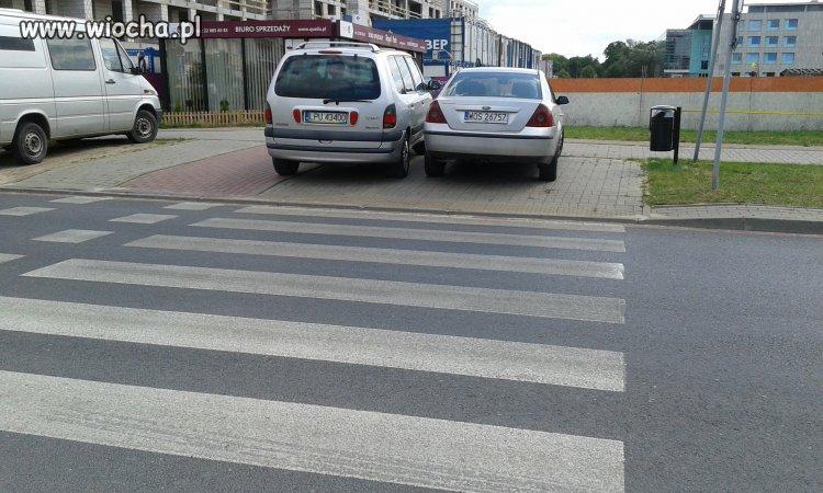 Parkowanie na przejściu dla pieszych