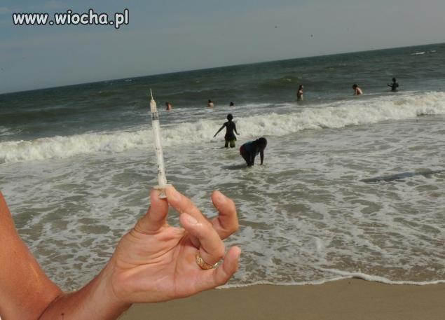Na plaży można znaleźć ciekawe rzeczy