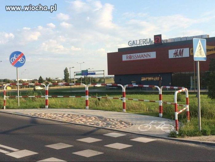 Poznań, najkrótsza ścieżka rowerowa w Polsce