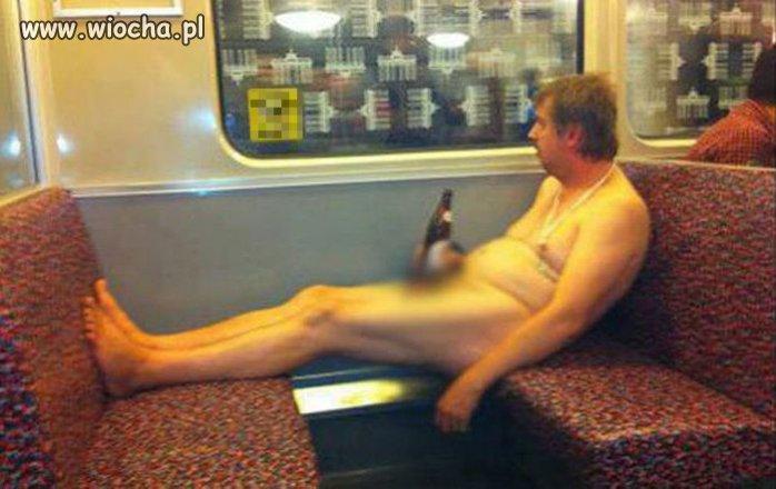 A tymczasem w pociągu