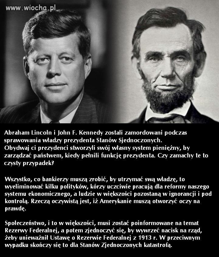 Dw�ch prezydent�w USA chc�cych zlikwidowa�