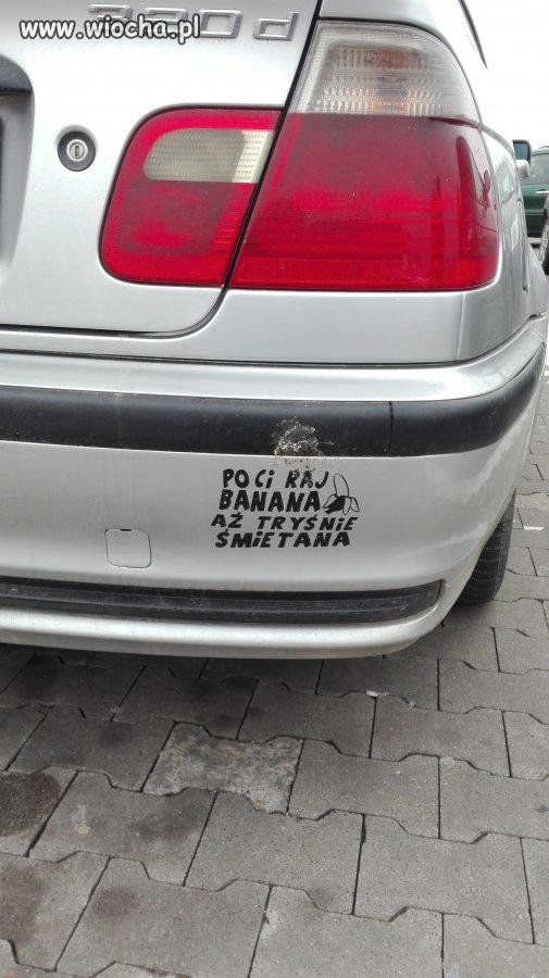 Pocieraj Banana... BMW.
