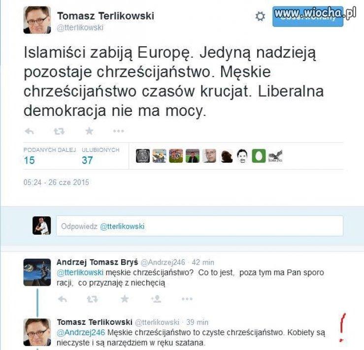 Terlikowski o kobietach