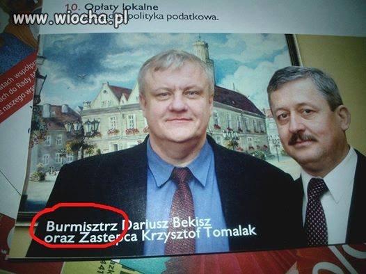 """Mi""""SZ""""trzowska pisownia"""