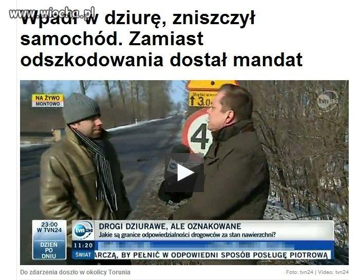Tak w Polsce obywateli robi sie w ch**a