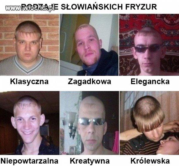 S�owia�skie fryzury