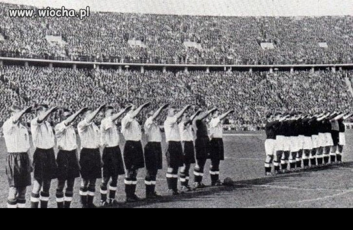 Mecz: Anglia-Niemcy 1938 r.