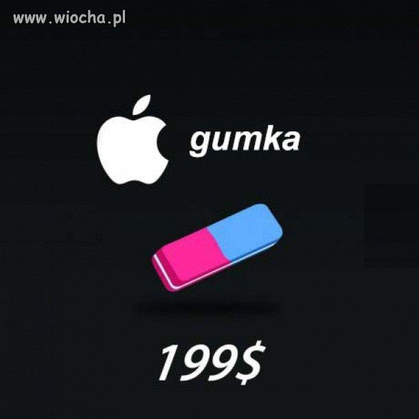 Gdyby Apple sprzedawał gumki
