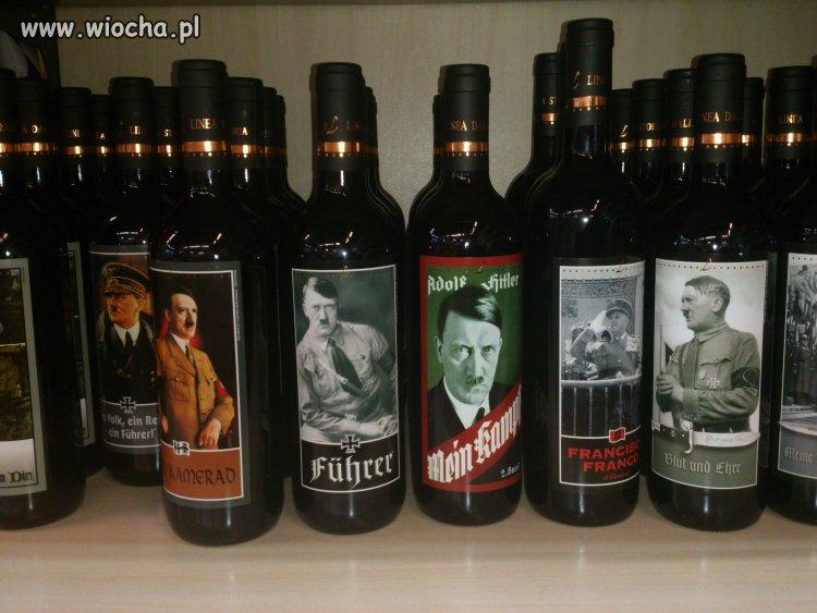 Wina na Włoskiej stacji benzynowej.