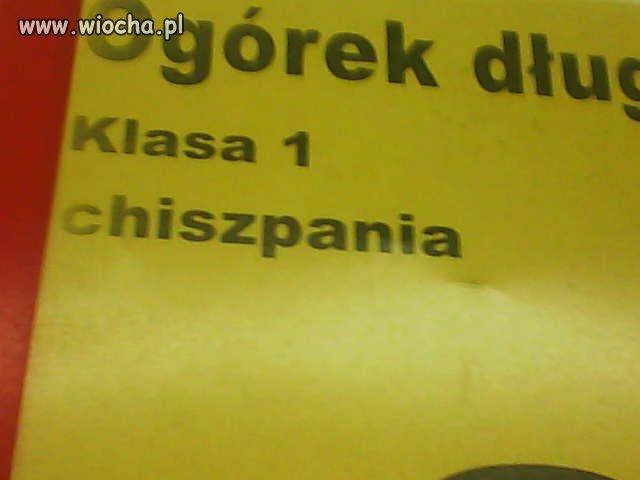 """""""Długi ogórek z Chiszpanii""""."""