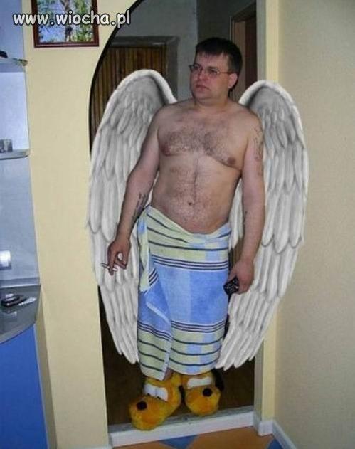 Bo ja będę twym aniołem...