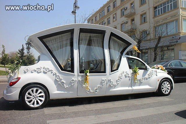 Ruskie limo na ślub