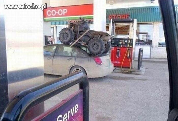 Fachowy przewóz quada !