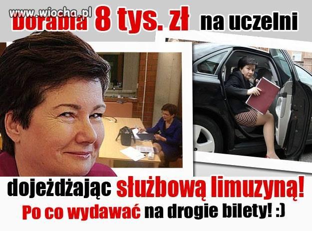 Chytra baba z Warszawy...