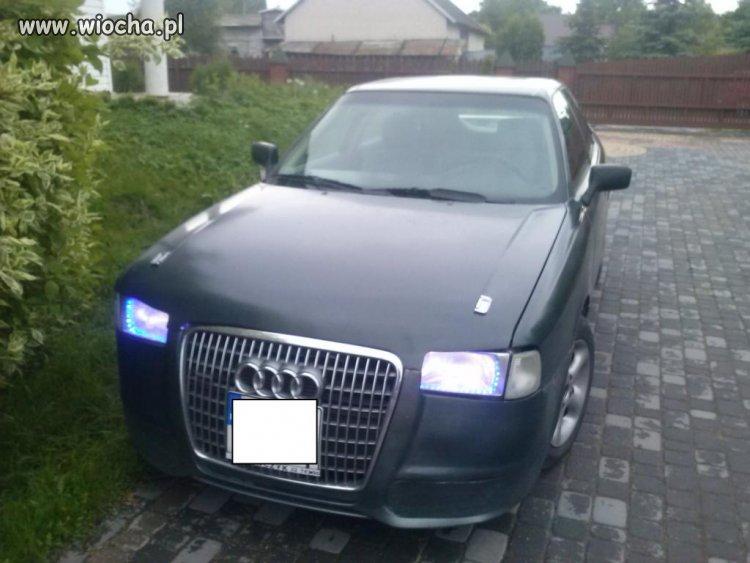 Audi 80... Wiejski Tuning na maxa