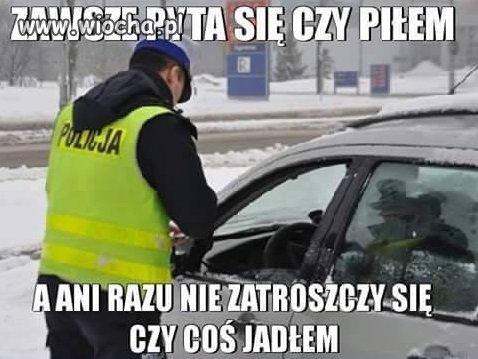 Troskliwy policjant