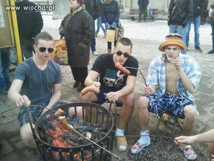 Koksownik party w Kaliszu