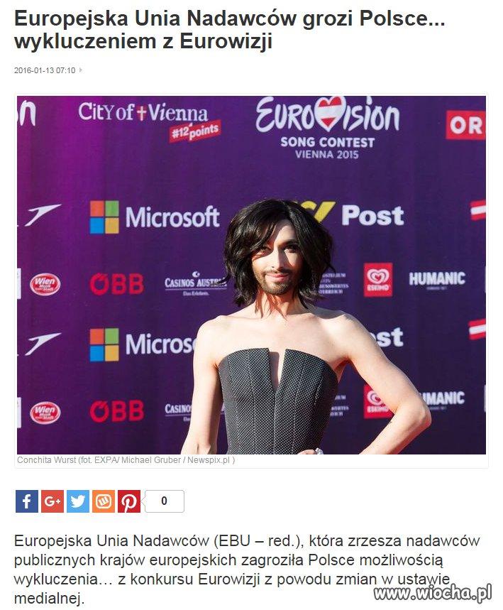EBU grozi Polsce...