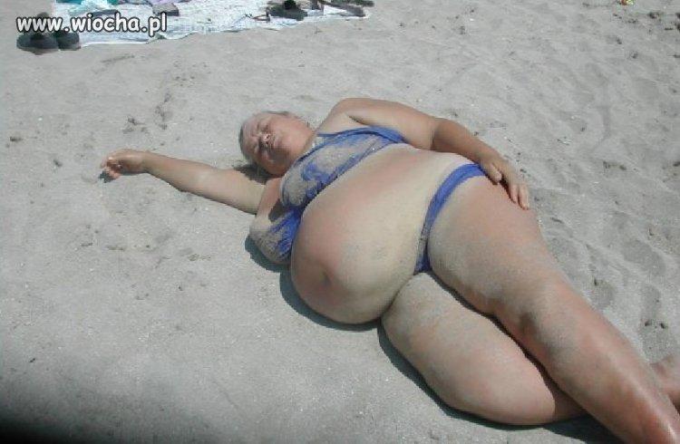 Pierwsi plażowicze już są