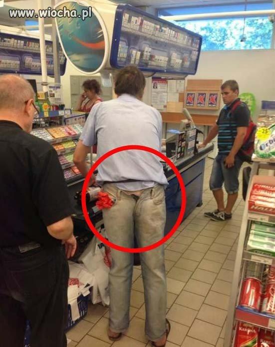 Wybrał się na zakupy...