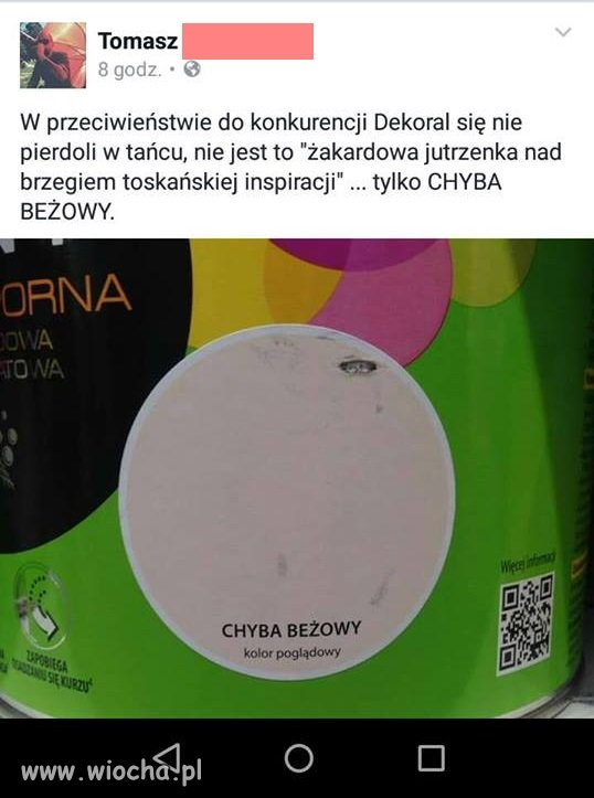 Chyba beżowy