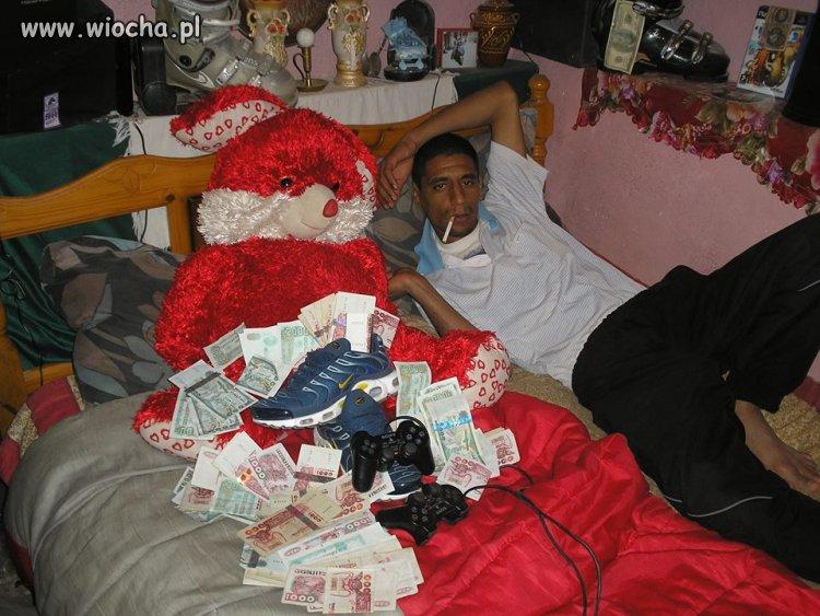 On jest bogaty