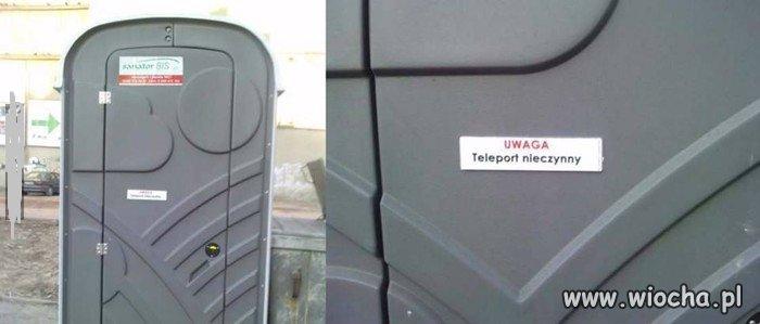 Dziś teleport