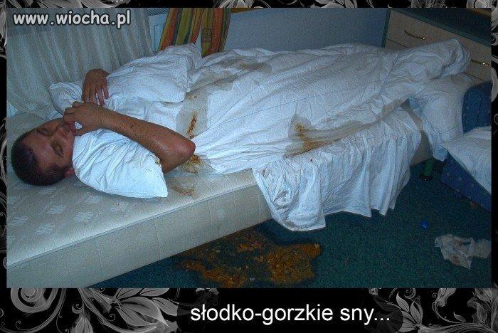 Słodko - gorzkie sny...
