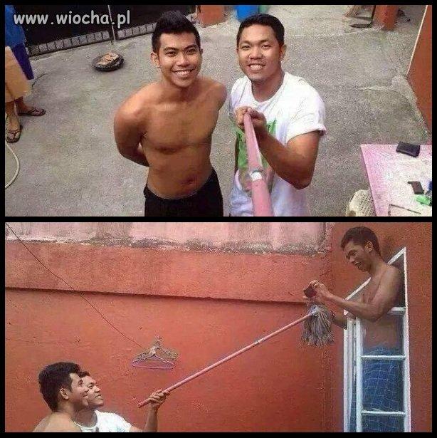 Selfie z mopa