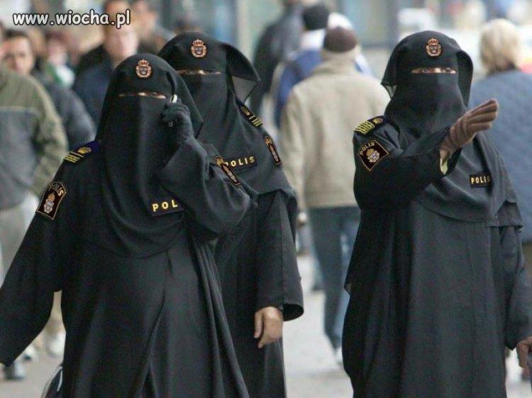 Nowe oddziały szwedzkiej policji