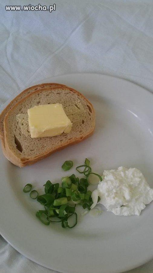 śniadanie w jednym z Lubelskich szpitali...