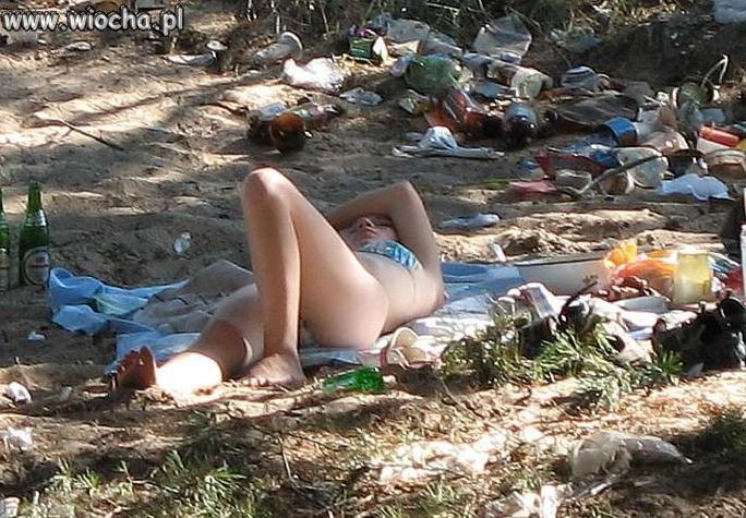 Nie ma jak wypoczynek na łonie matki natury!!!