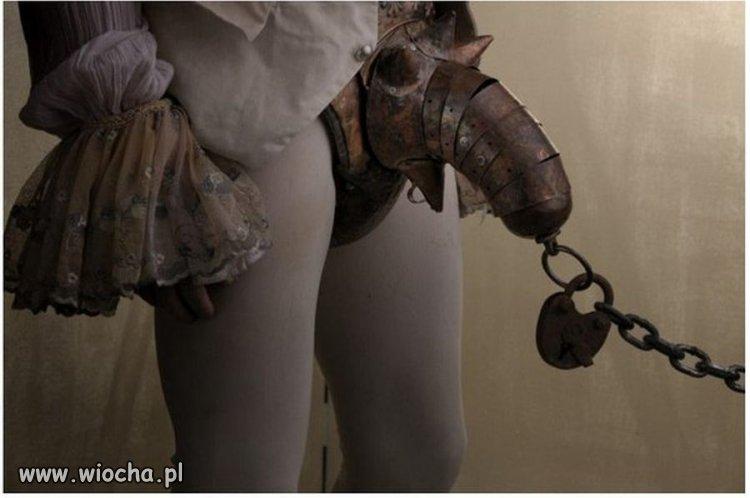 Pas cnoty dla mężczyzn z XVI wieku.
