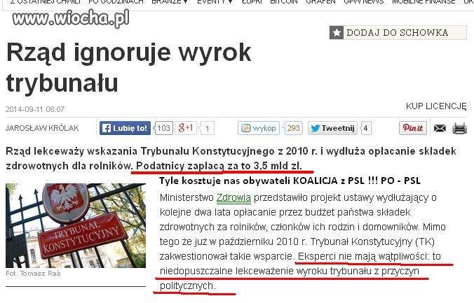 Reformy OFE ... ale KRUS ... ???