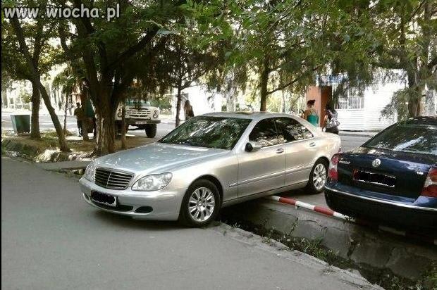 Ostre parkowanie