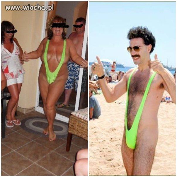 Żona Borata?