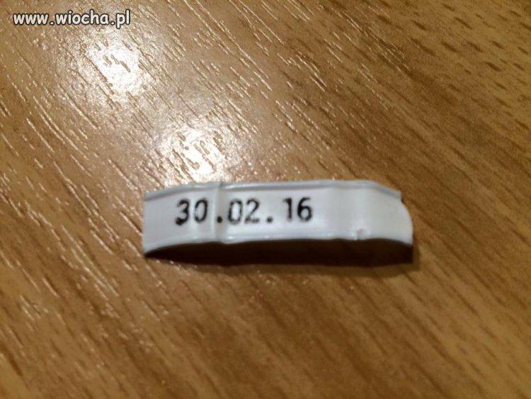 Kiedy będzie 30.02.16 ?