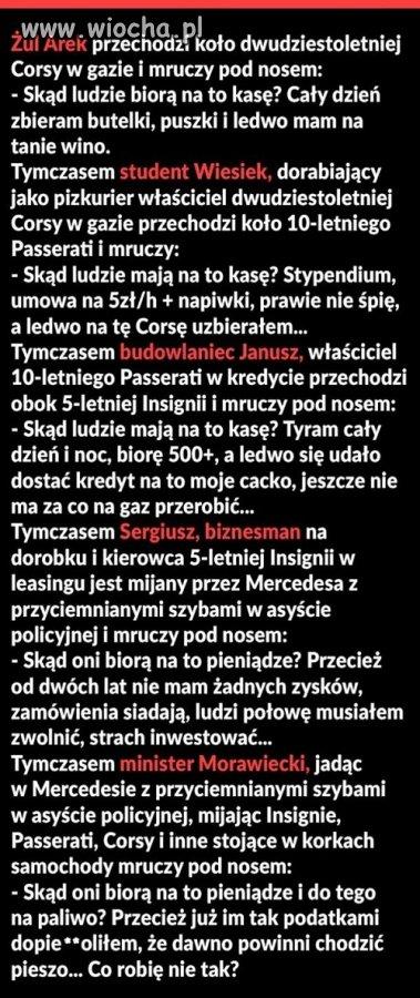 Jedzie sobie Morawiecki
