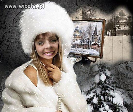 Kolejna mistrzyni photoshopa...