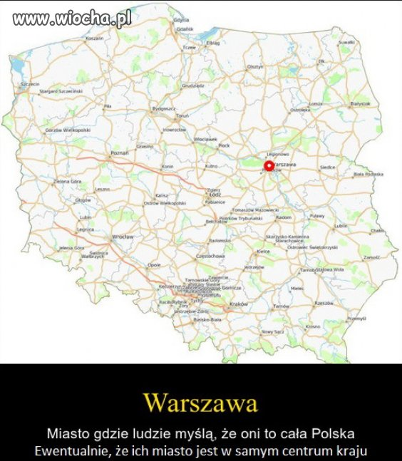 Warszawa to stan umysłu