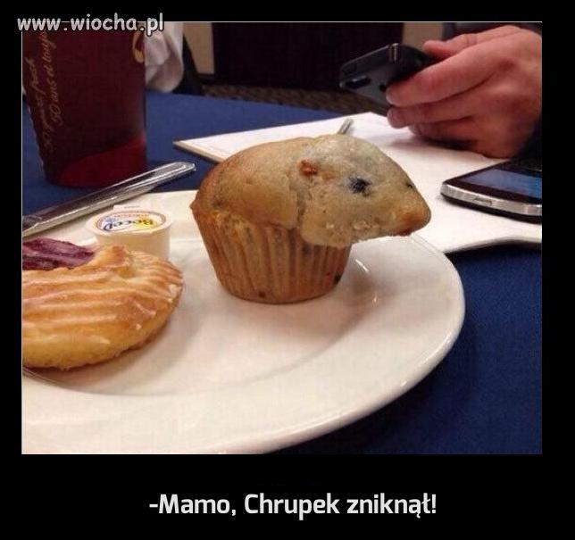 -Mamo, Chrupek zniknął!