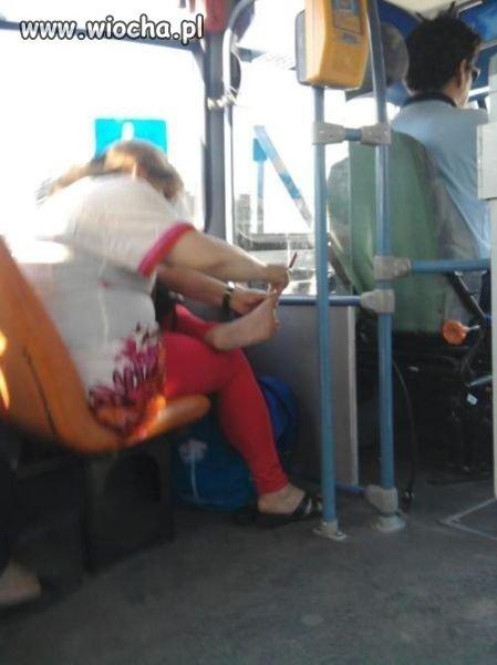 Takie tam w autobusie...