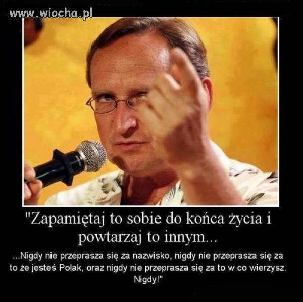 Żądamy w szkołach nauki o Polskich Bohaterach